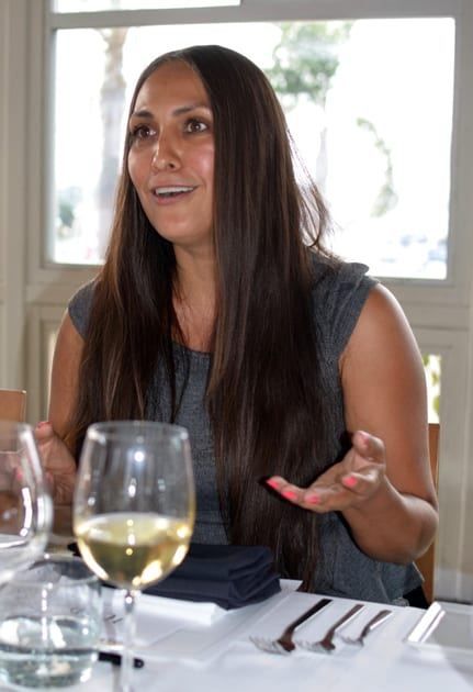 TOP Winery Elena Martinez discussing balance