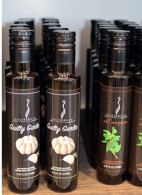Calivirgin Guilty Garlic Flavored Olive Oil