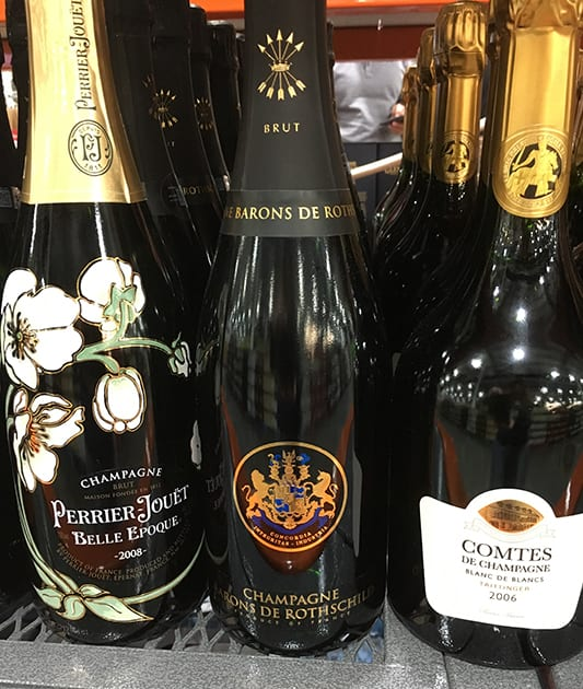 New Years Champagne Selection
