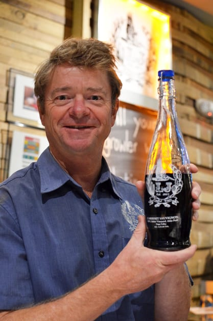 Lowell Jooste, Owner LJ Crafted Wines