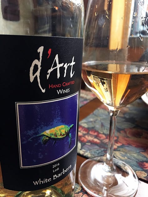 D'Art White Barbera