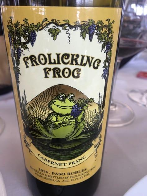 Frolicking Frog Cabernet Franc