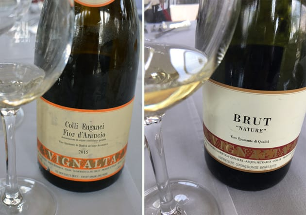 Vignalta Colli Euganei Fior d'Arancio and Brut Nature