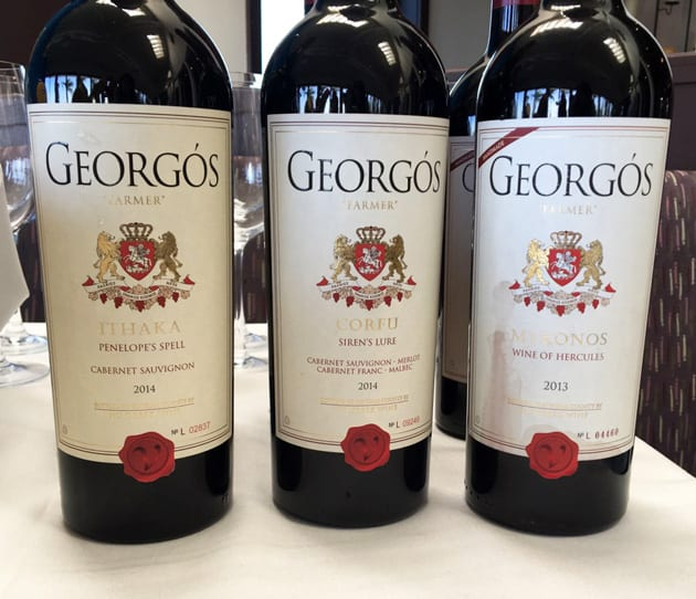 Georgos Nu Greek Wines Reds