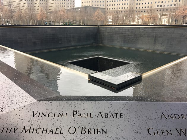Visit New York City 911 Memorial