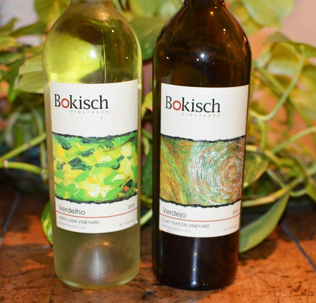 Bokisch Vineyards Verdejo and Verdelho