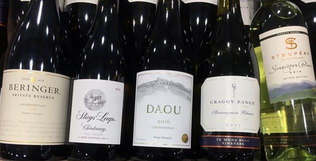 Chardonnay vs Sauvginon Blanc
