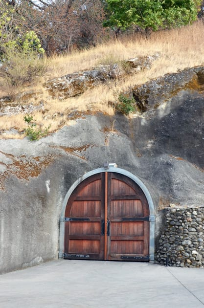 Wente Vineyards Cave Entrance