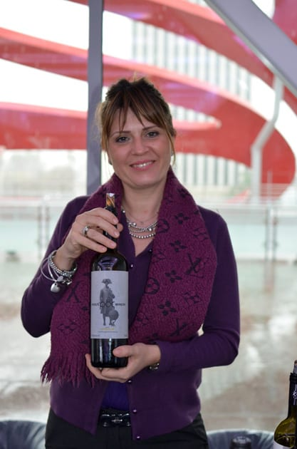 Maria Tamiolaki, Winemaker at Rhous on Crete
