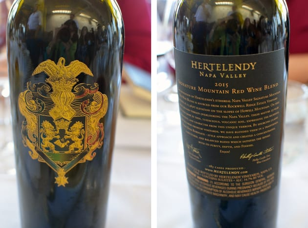 Hertelendy Signature Mountain Wine