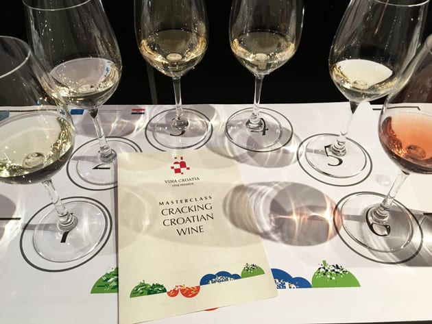 Masterclass Cracking Croatian Wine