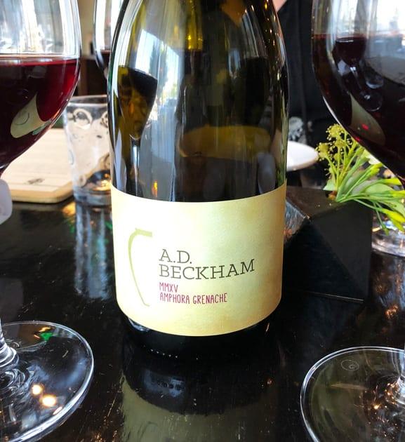 Amphora Wine - A.D. Beckham Amphora Grenache