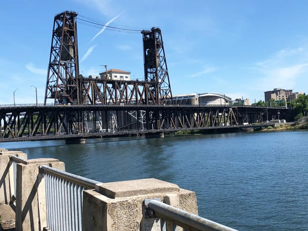 Portland's Steel Bridge