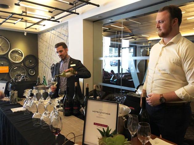 Kimpton's Hotel Vintage Portland Wine Tasting