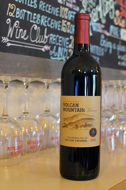 Volcan Mountain Old Vine Zinfandel