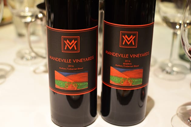 Mandeville Vineyards Wine