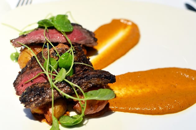 Napa Valley Grille's Marinated Wagyu Skirt Steak