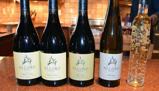Alloro Vineyard Wine