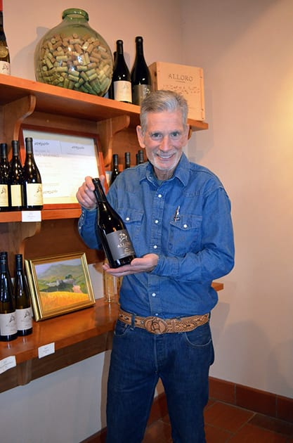 Alloro Vineyard owner, David Nemarnik