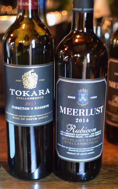 South African Wine - Cabernet Blends