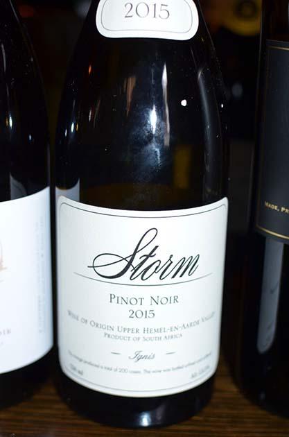 Storm Pinot Noir