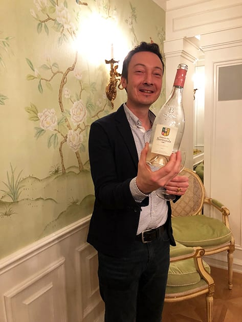 Alexis Cornu with Chateau des Bertrands Rose