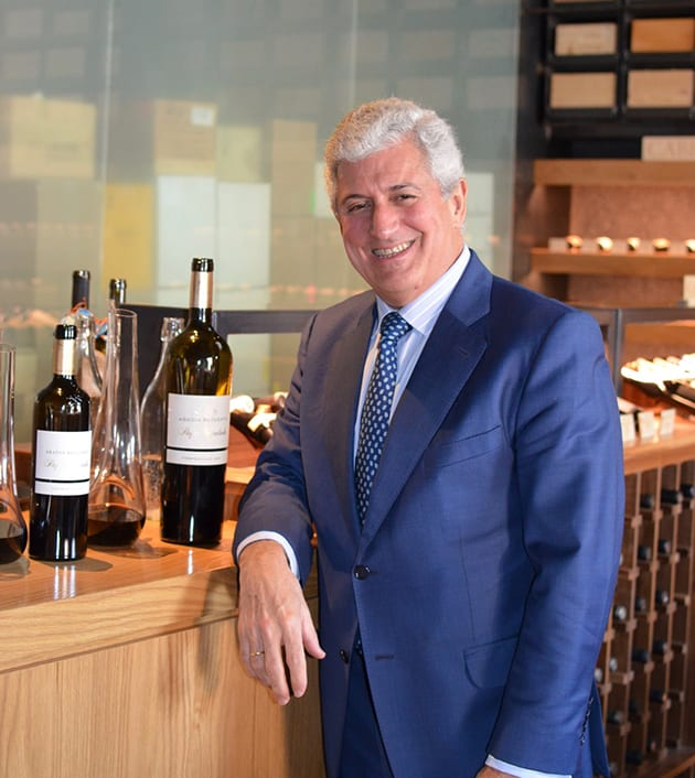 Enrique Valero CEO Abadia Retuerta LeDomaine