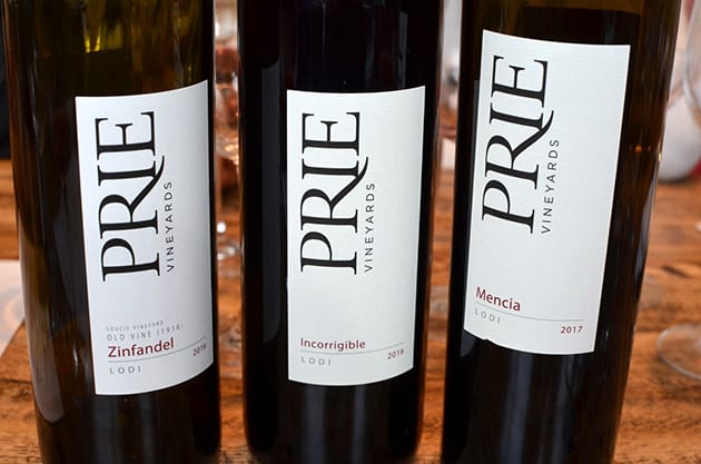 Lodi Winery Prie Wines