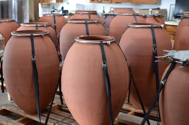 Amphorae for Amphora Wine