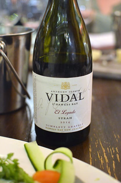 Vidal El Legando Syrah