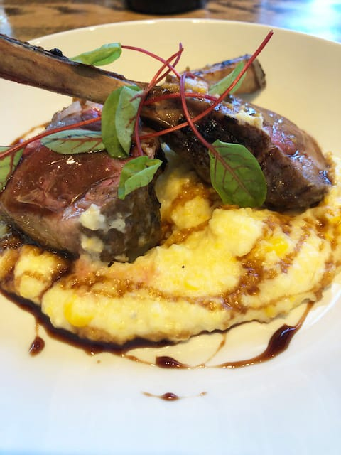 Napa Valley Grille Autumn Menu Colorado Lamb Rack