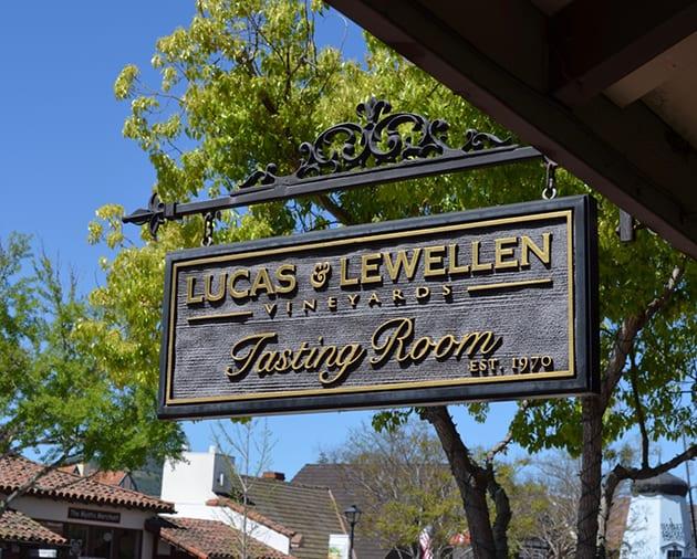 Solvang Winery Lucas & Lewellen Tasting Room
