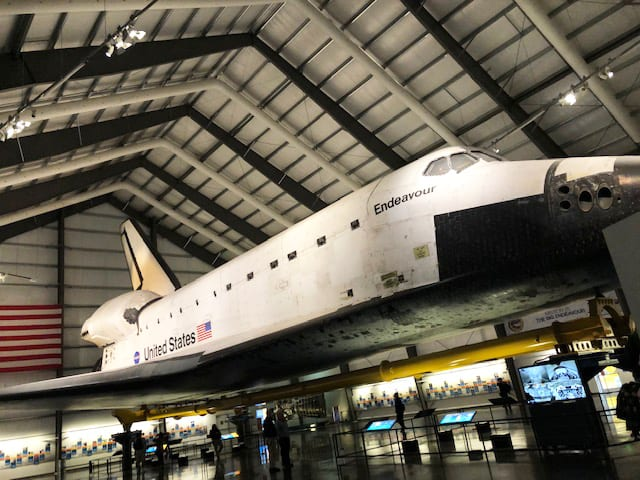 Endeavor Space Shuttle - California Science Center