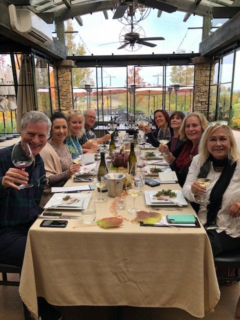 Dancin Vineyards Luncheon with LA Wine Writers