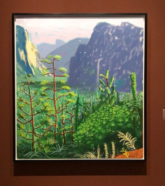 David Hockney Yosemite 2011
