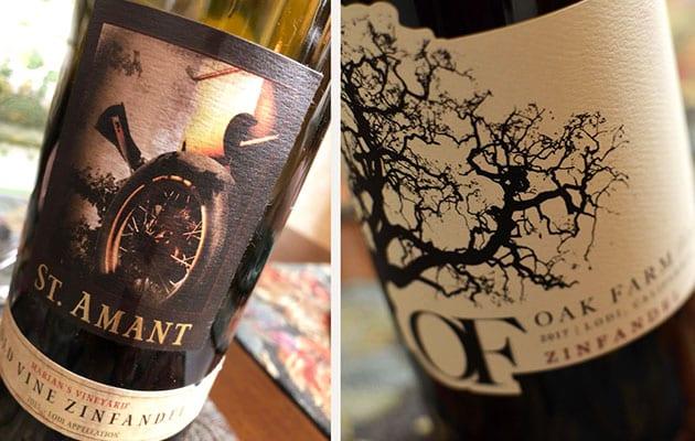 Lodi Zinfandel Wine
