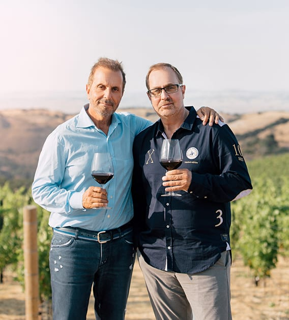 Georges & Daniel © DAOU Family Estates