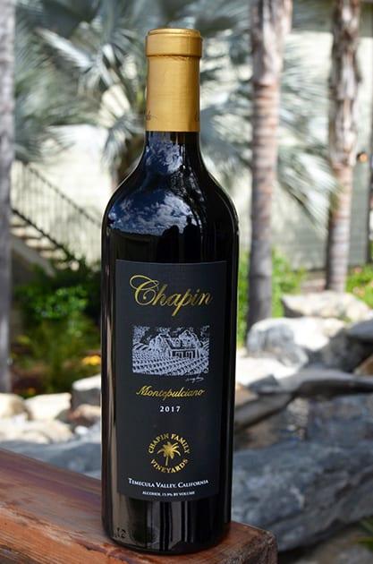 Chapin Family Vineyards Montepulciano
