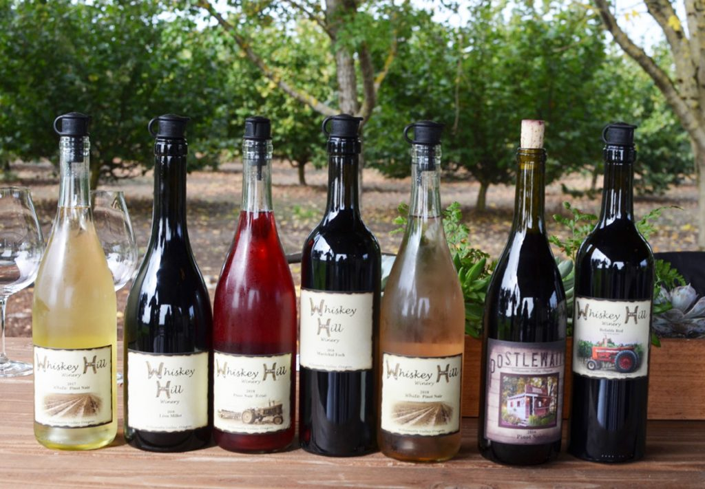 Whiskey Hill Wines - Mt. Hood Territory