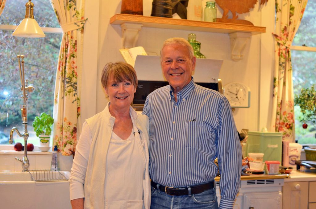 Terry and Al Sande, Owners of Sandes of Terry and Al Sande, Owners of Sandes of Time © Cori SolomonTime © Cori Solomon