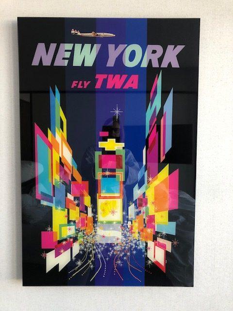 Fly TWA Poster
