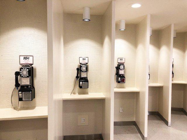 TWA Hotel Pay Phones