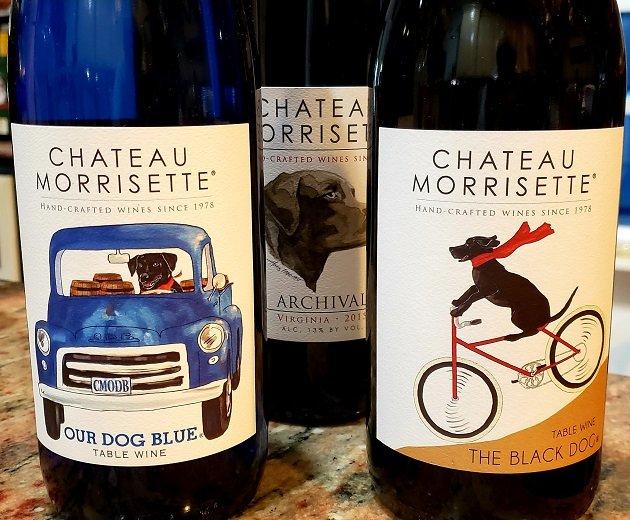 Chateau Morrisett Black Lab Labels