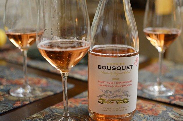 Valentine's Day 2021 with Domaine Bousquet Rosé Brut