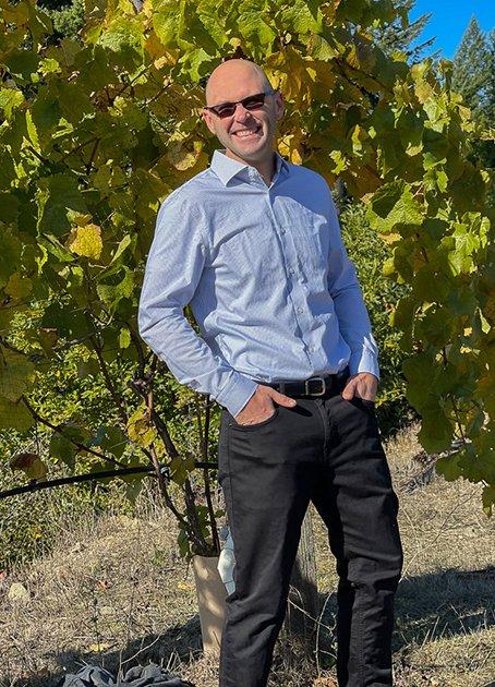 Terragena Winemaker Owner Chris Buchanan