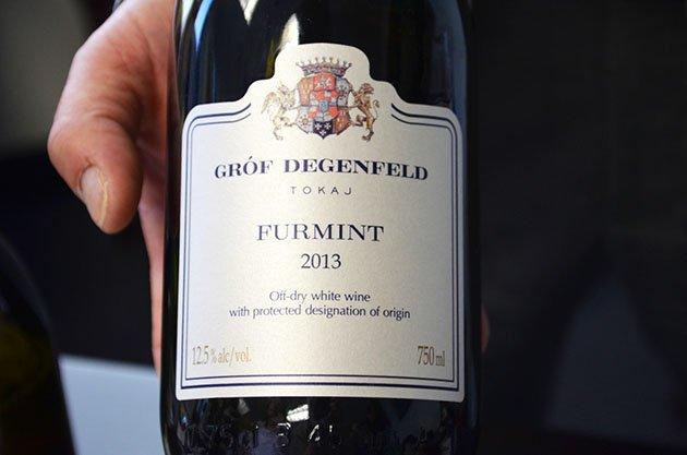 Gróf Degenfeld Winery Furmint